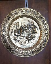 Super Sale! Large Decorative Metal Elizabethan Style Wall Hanging