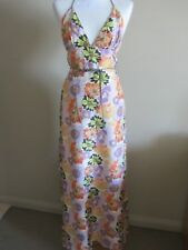 Preacher maxi silk dress, size AUS 8, new