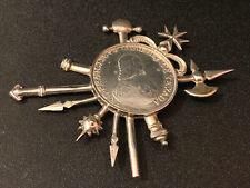 More details for knights of malta 1774- 2 scudi francisco ximenez de texada - silver crown rare