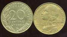 20 centimes  MARIANNE  1985