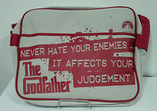 "The Godfather 13"" Messenger Bag - White"