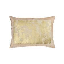 Michael Aram Distressed Metallic Lace Pillow - Blush / Gold