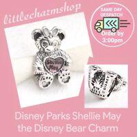 New Authentic PANDORA Shellie May the Disney Bear Charm - 792130ENMX RETIRED