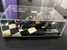 Minichamps 1/43 wolf ford wr1 Canadian gp 1978 B. rahal (limited edition)