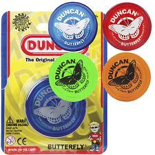 Duncan Butterfly Yo-Yo - Red, Green, Orange, or Blue NEW