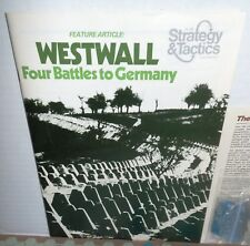 Strategy & Tactics MAG w/ GAME #54 Dixie The Second War Between the States 1976