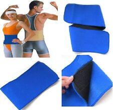 Waist Support Body Backache Mens Womens Tummy Strap Sports Velcro Lumbar Belt