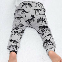 Child Kids Toddler Baby Boy Girls Long Harem Pants Trousers Leggings Tights 0-4Y
