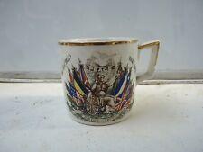 More details for 1919 peace mug - commemorative ww1 mug - end of ww1 1914-1918 original