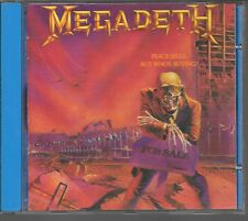 CD ALBUM 9 TITRES--MEGADETH--PEACE SELLS...BUT WHO'S BUYING--1986