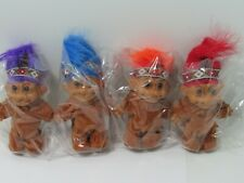 NATIVE AMERICAN INDIAN  Russ Troll Doll Thanksgiving Vintage Retro Nostalgic lot