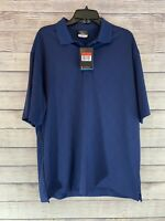 NIKE GOLF 349899 Men's DRI-FIT CROSS-OVER TEXTURE POLO SHIRTS Size L NWT