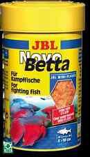 JBL NovoBetta 100ml - Siamese Fighter Food Mini Flakes Novo Betta & Gouramis