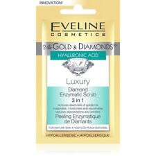 Eveline 24K Golds & Diamonds Luxury Diamond Enzymatic Scrub 3 in 1 7 ml