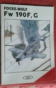 Focke-Wulf Fw 190F, G-Janda &Poruba-JaPo publisher