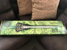 """Lord of the Rings """"Glamdring: Sword of Gandalf the Grey� Uc1265 *Mib*"""