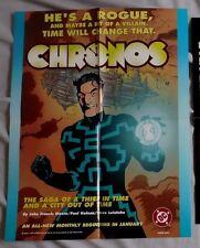 CHRONOS Poster 1997 DC CoMICS Promo 8060 Poster 17x22