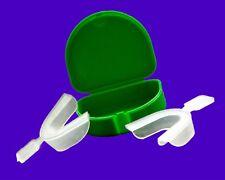 1x2 Bruxismo Noche Protector Protector Blanqueamiento Dental Thermo Bandeja & Green Dental Caja