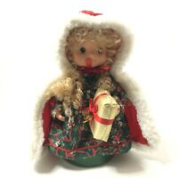 Padma Christmas Doll Animated Little Girl 12""