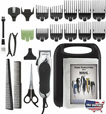 Wahl Professional Clippers Hair Cut Trimmer 24 Piece Kit Haircut Barber Set Pro