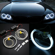 4pcs 131mm LED CCFL Angel Eyes Halo Rings Lights Lamp Fit For BMW E36 E39 White