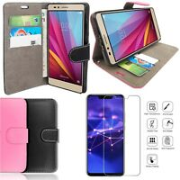 Case For Huawei honor 8X 2018 Magnetic Flip PU Leather Wallet Phone Book ID Slot
