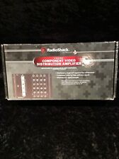 4 Channel Component Audio/Video Distribution / Signal Amplifier 1 IN 4 OUT