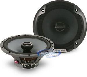 "Altavoces coaxiales de 6.5/"" 16.5 cm 3-Way coche SEAT Ibiza 2012 /> Alpine SXV-1735E"