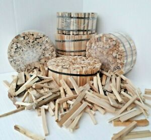 Eco KINDLING - Workshop Offcuts and Reclaimed Timber - Hand Chopped 4.5 Kg Rolls