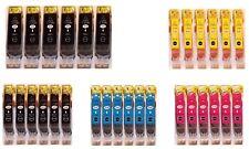 30x Patronen für Canon PIXMA IP4850 MG5150 MG5250 MG6150 MG8150 MX885 IX6550 3T