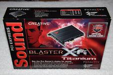 Creative Sound Blaster X-Fi Titanium Fatality Professional Series PCIe Audio Cad