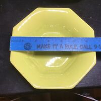 Daffodil Yellow Independence Ironstone by Interpace Soup Bowl Octagonal