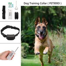 Vibration Antibell Elektrisch Hund E-Collar Erziehungshalsband Ferntrainer