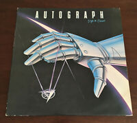 Autograph - Sign In Please Greek Issue 1985 Vinyl Debut LP ORG V.Rare EX/VG+