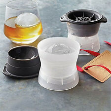 Tovolo Set of 2 Reusable Sphere Ice Moulds / Round Ball Ice Cube Makers