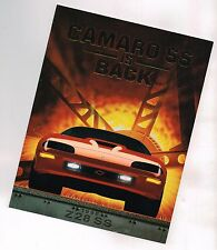 1996 Chevy CAMARO Z28 / SS Only Brochure / Catalog: SLP Engineering, Z-28...NOS!