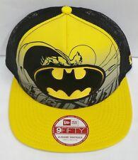 New Era 9 Fifty Batman Hero Scene Cap / Hat Snapback (Small/Medium) Yellow NEW