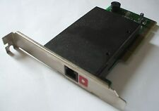 Scheda modem fax chip SmartLink sl1900 56K PCI RJ-11 analogico card staffa PCI