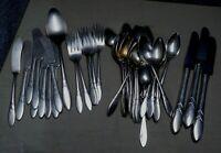 39 PC Oneida Community Plate LADY HAMILTON Silverplate Flatware Set No Monogram