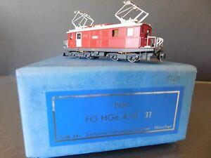 Lok 14 Exclusive Schmalspurbahnen Munchen Nm FO HGe 4/4 1 #31 Glacier Express