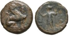 Ancient Greece 260-230 BC PAMPHYLIA Perge Sphinx Artemis