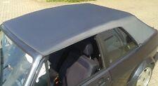 VW Golf 1 Cabrio Verdeck Stoff braun metallic incl. Anleitung (Qualitätsstufe 3)