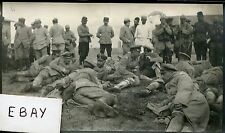 La X en Champagne.guerre 1914-1918.prisonniers Allemands officiers.le 7 bre 1915