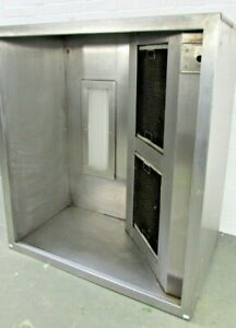 Commercial Kitchen Canopy Hood in Stainless Steel with Internal Light & Filter
