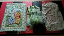 Winnie the Pooh Crib Set With Blanket, Bumper Pads, and Sheet