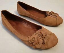 Jones Giggleswick Suede Flat Slip-on Shoes Flower Tassels UK 7 EU 40 RRP £69