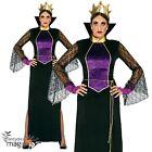 Mujer EVIL Malvado Bruja Malvada Reina Bruja Blancanieves Disfraz Halloween