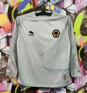 Wolverhampton Wanderers FC Wolves Football Soccer Longsleeve Jersey Top Youth M