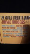 Jimmie Rodgers The World I Used To Know LP DLP 3556