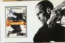 JASON STATHAM Signed 15x10 DVD Cover Display THE TRANSPORTER COA